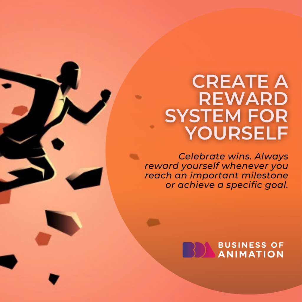 Create a Reward System for Yourself