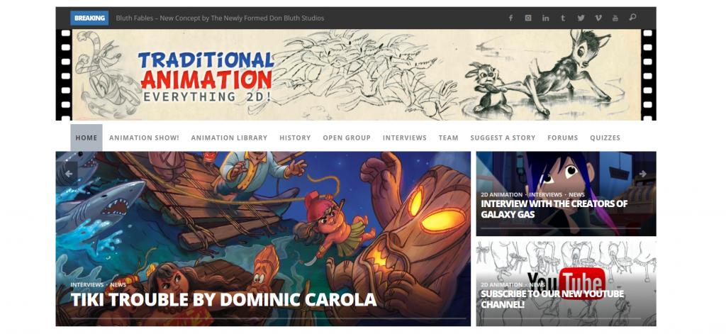 Traditional Animation blog