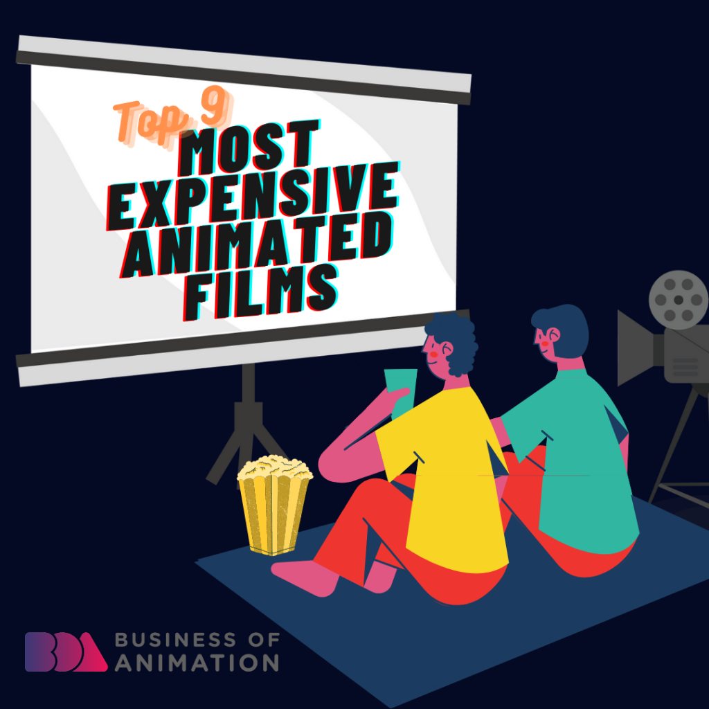 Top 9 Most Expensive Animated Films