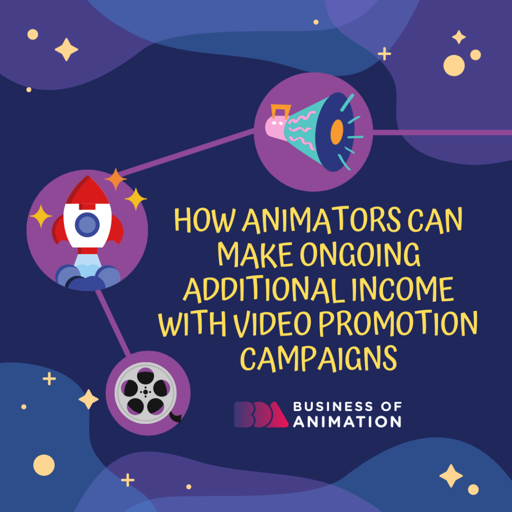 How Animators Can Make Ongoing Additional Income with Video Promotion Campaigns