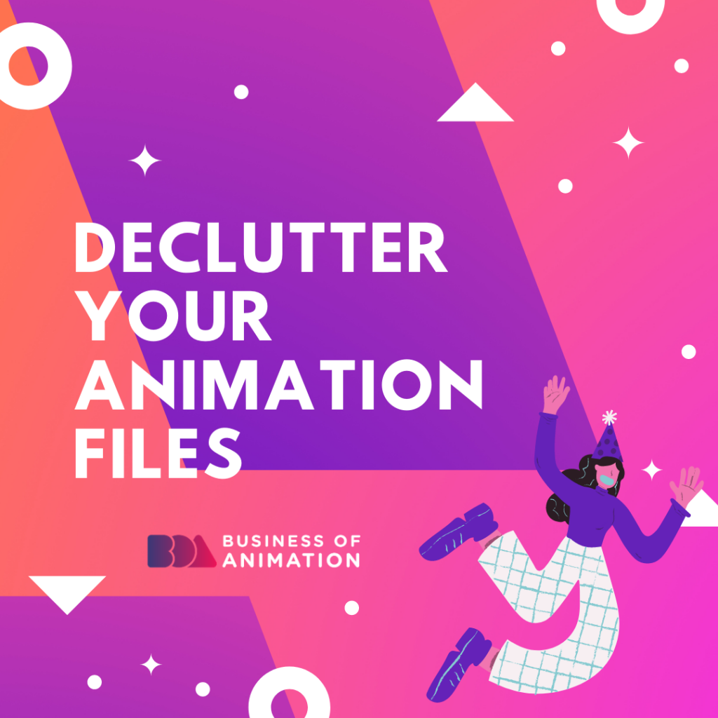 Declutter Your Animation Files