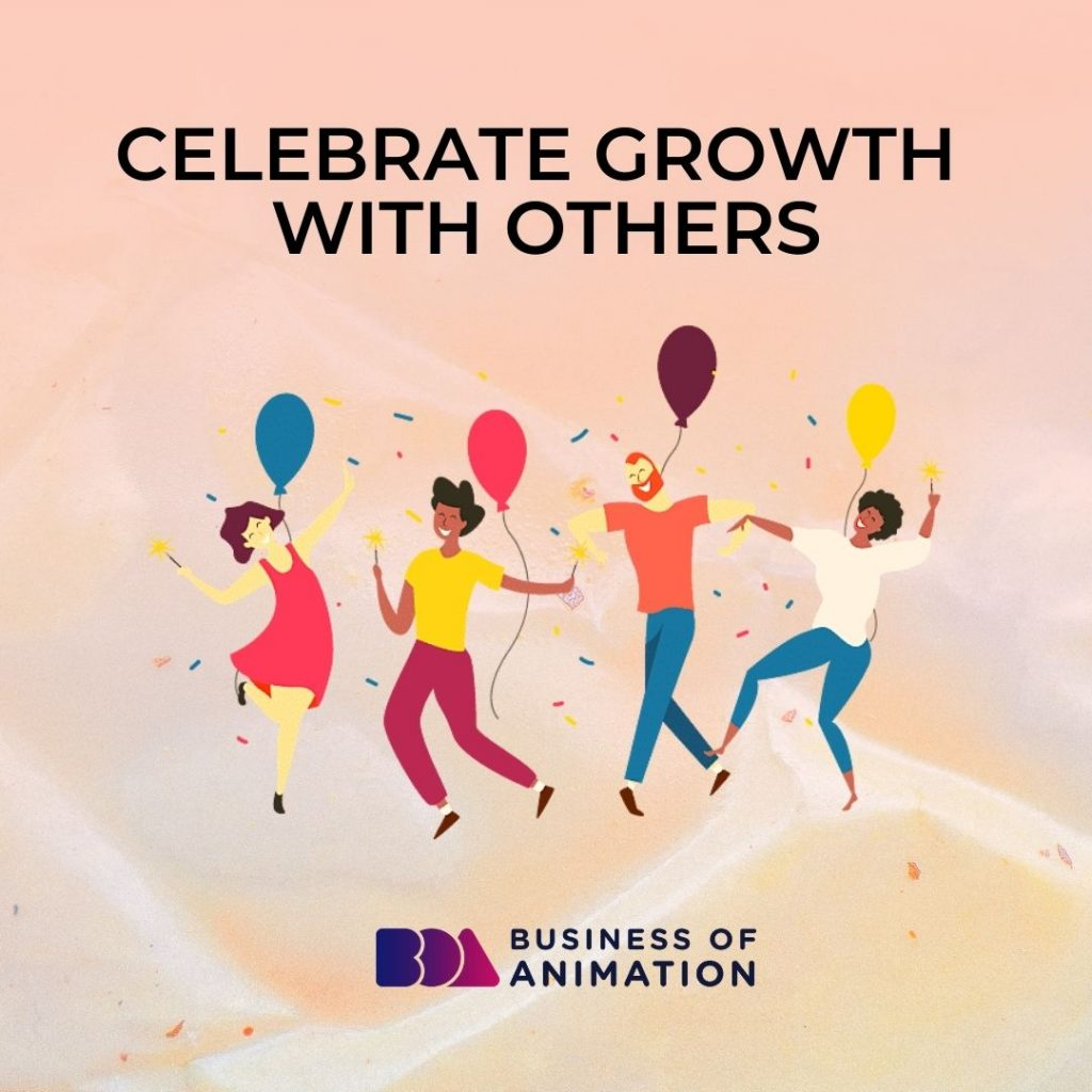 Celebrate Growth With Others