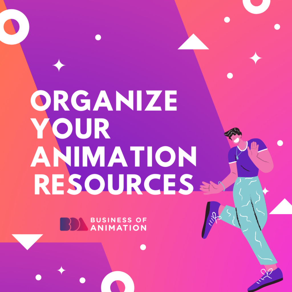 Organize Your Animation Books and Resources