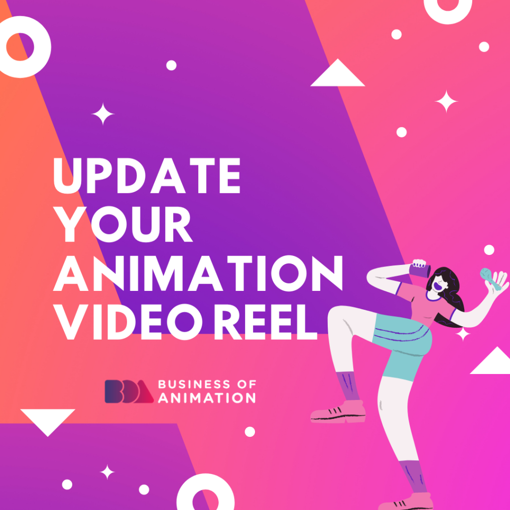 Update Your Animation Video Reel