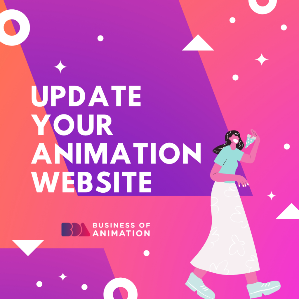 Update Your Animation Website