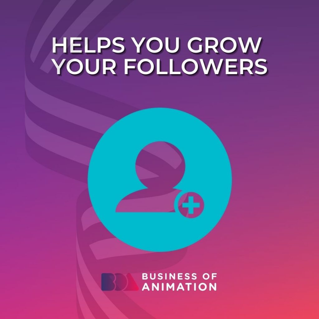 Helps You Grow Your Followers