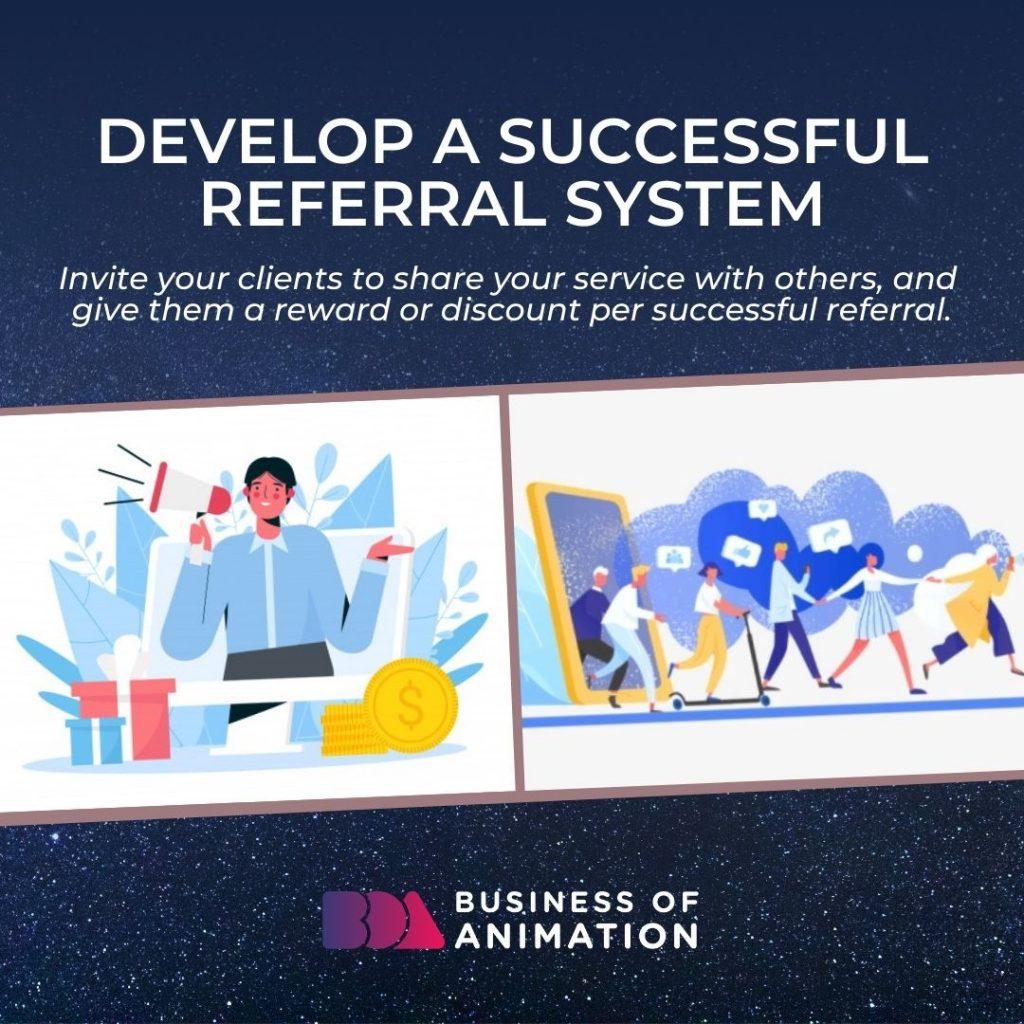 Develop a Successful Referral System