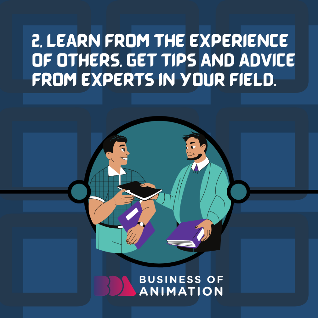Learn from the experience of others. get tips and advice from experts in your field.