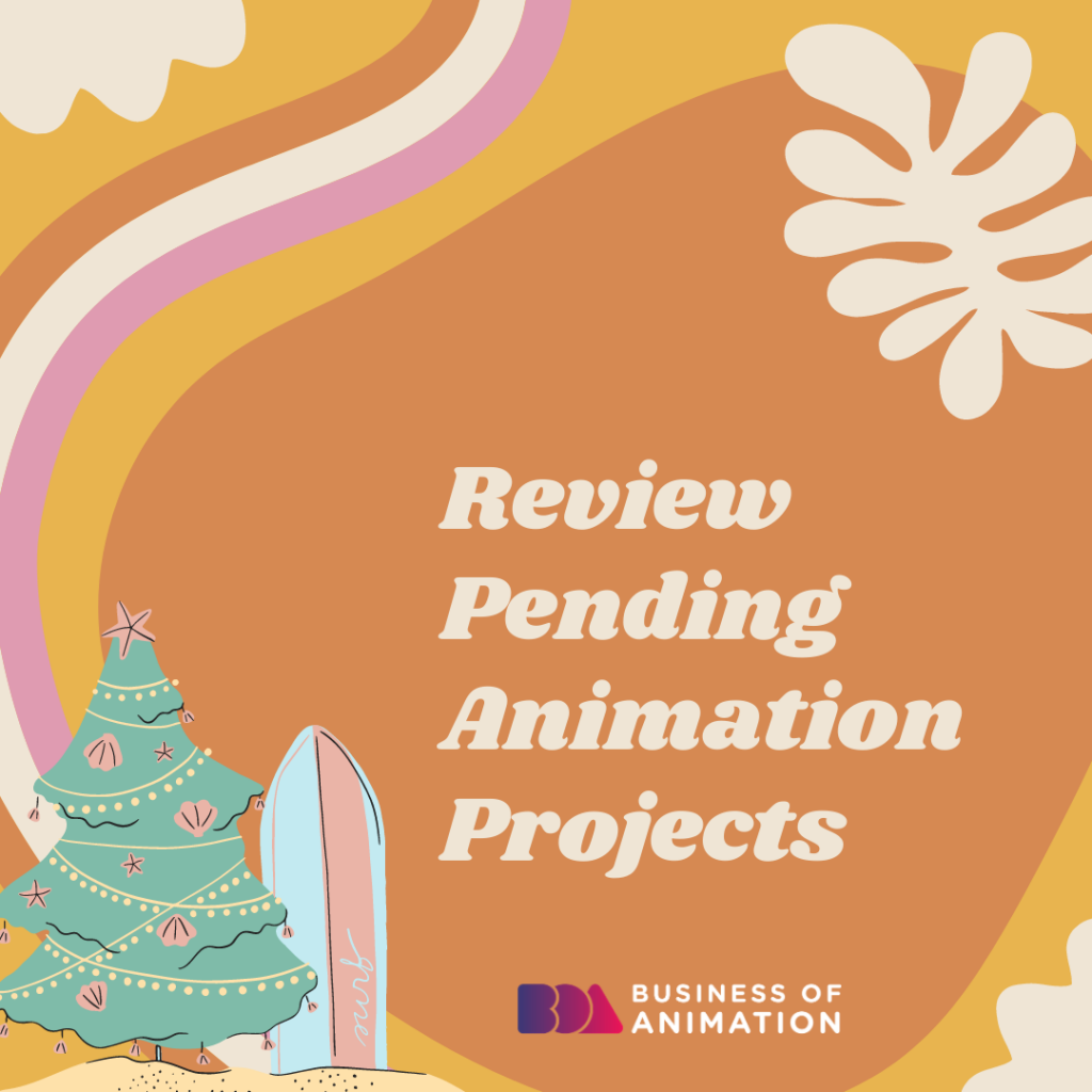 Review Pending Animation Projects
