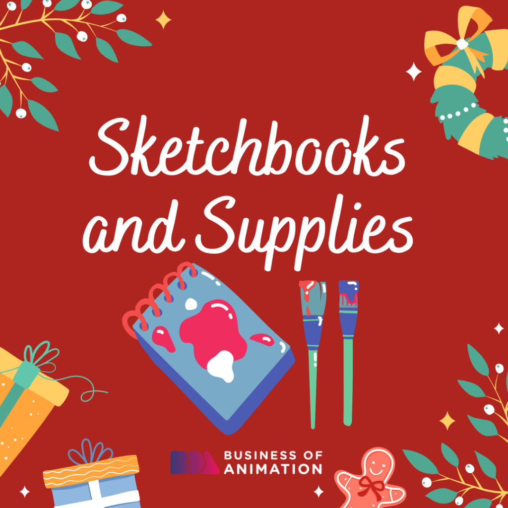 Sketchbooks and Supplies