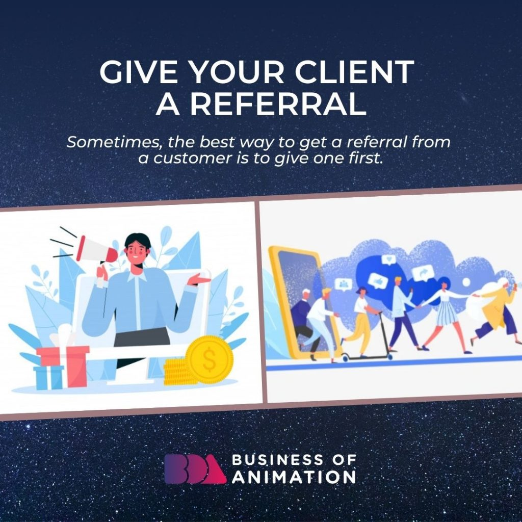 Give Your Client a Referral