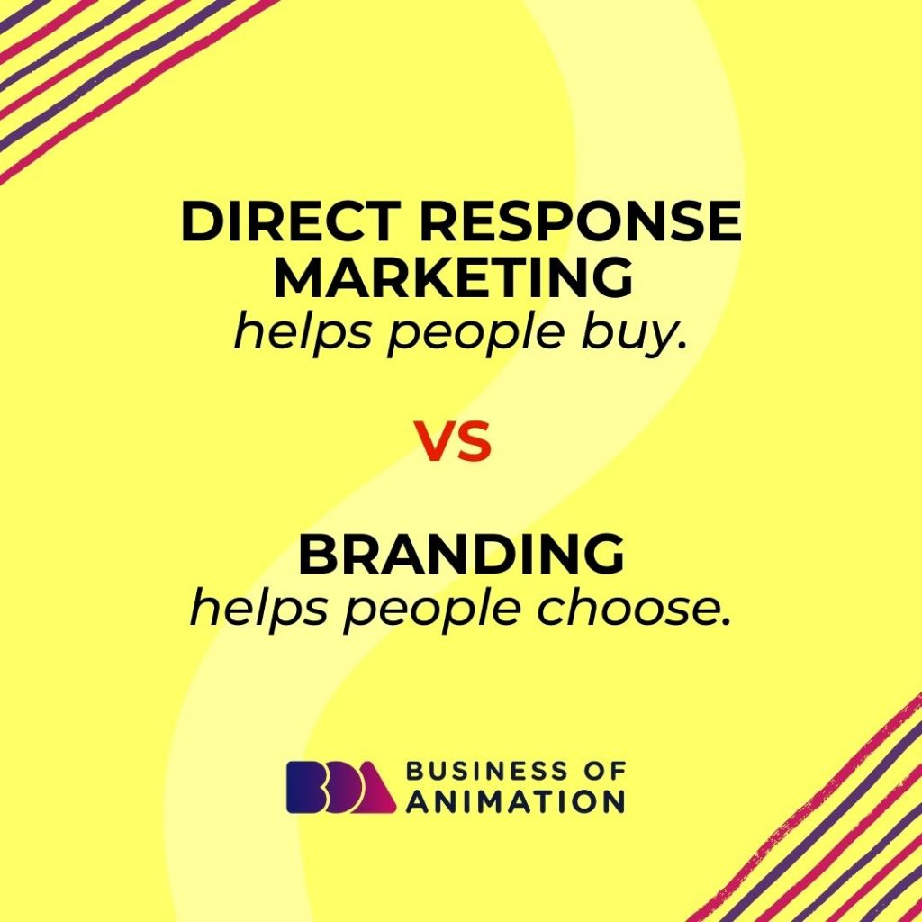 Direct Response Marketing VS Branding