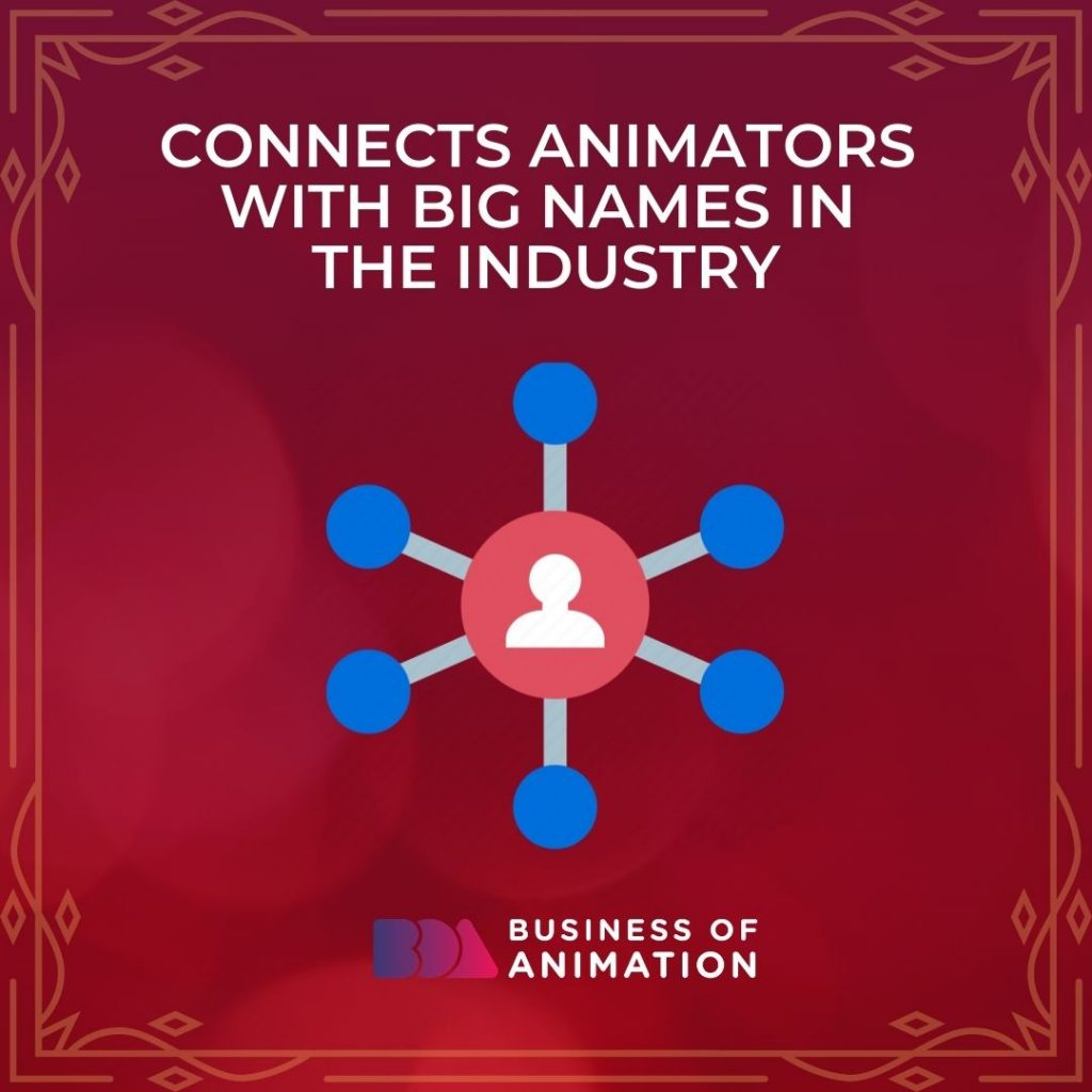 Connects Animators With Big Names In the Industry