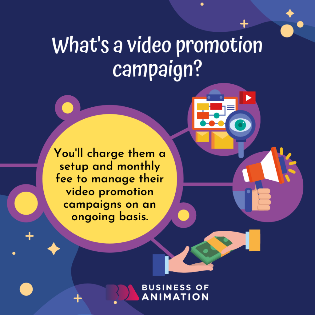 Video promotion campaign definition