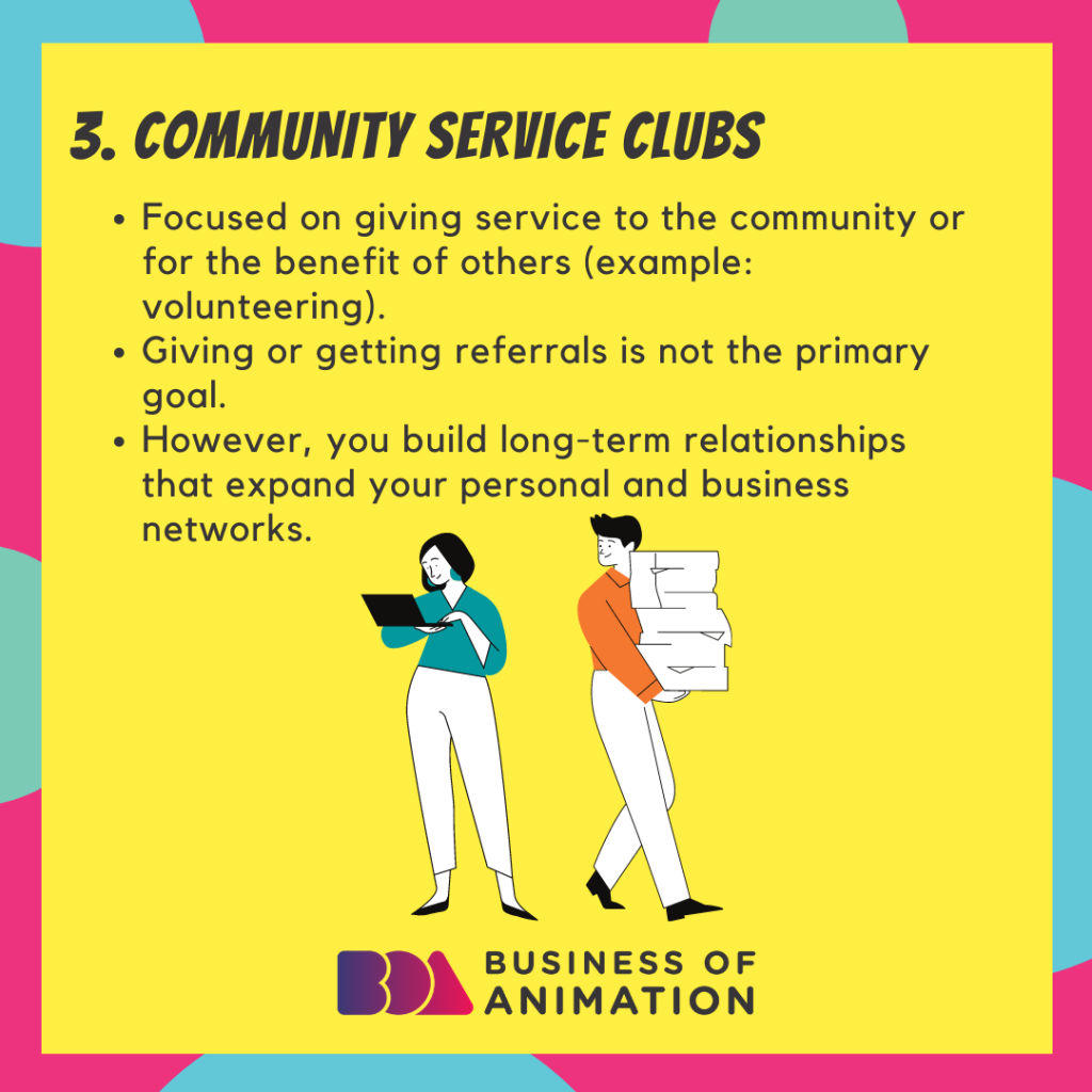 Community Service Clubs