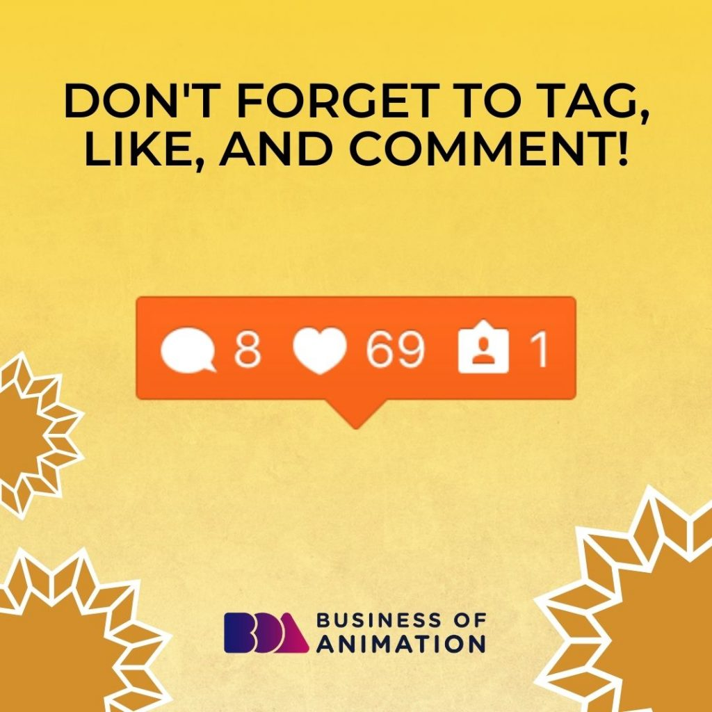 Don't Forget to Tag, Like, and Comment!