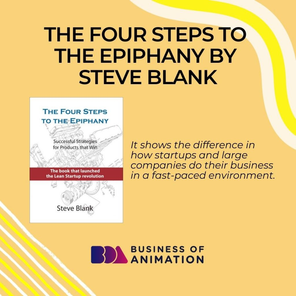 The Four Steps to Epiphany by Steve Blank