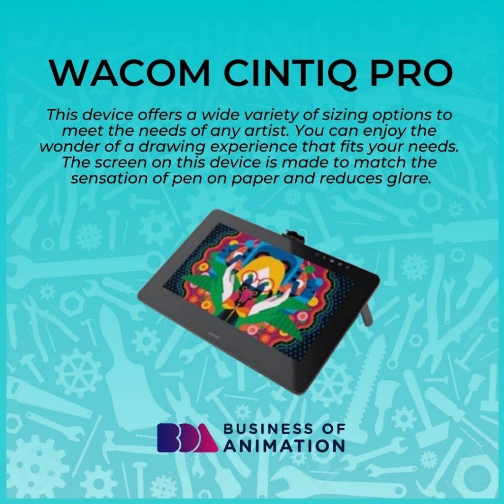 Wacom Cintiq Pro