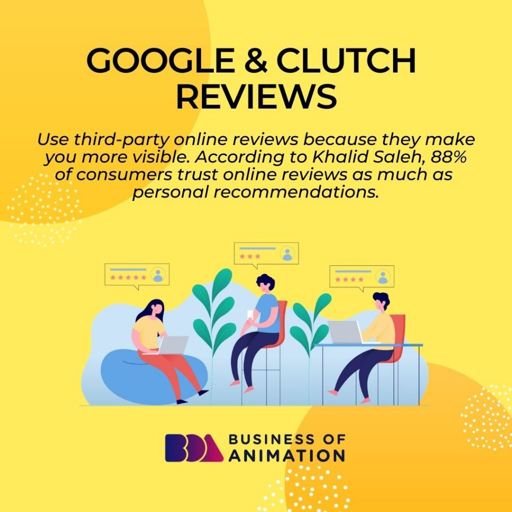 Google & Clutch Reviews