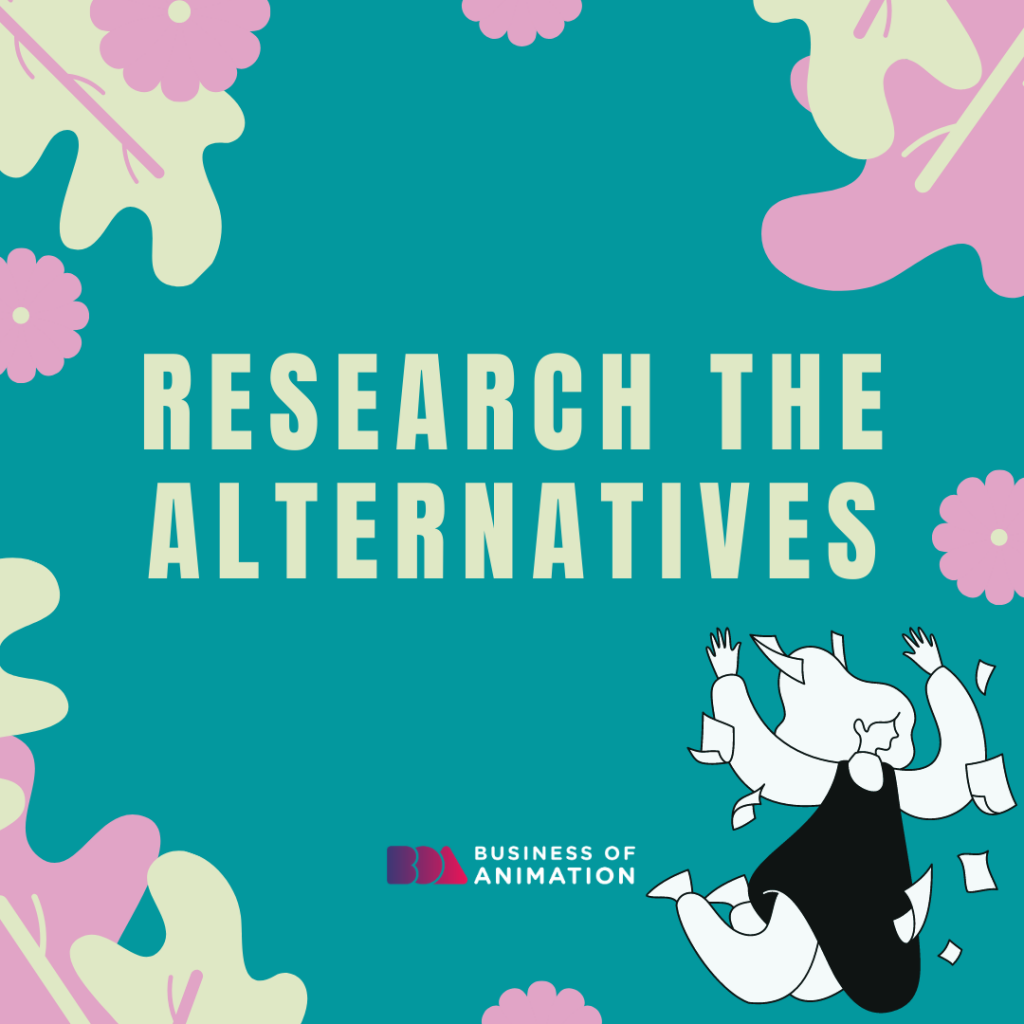 Research the Alternatives