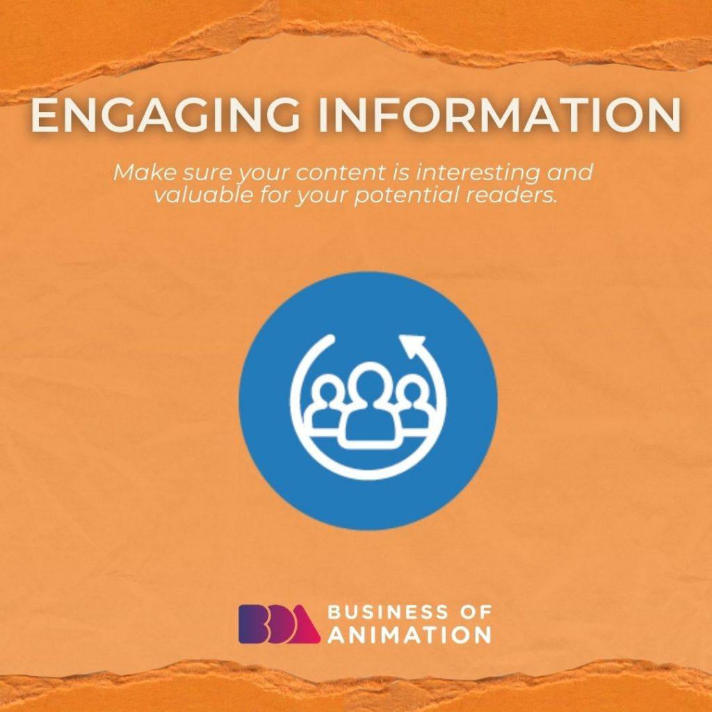 Engaging Information