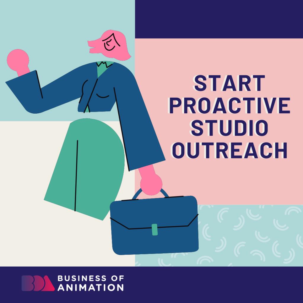 Start Proactive Studio Outreach