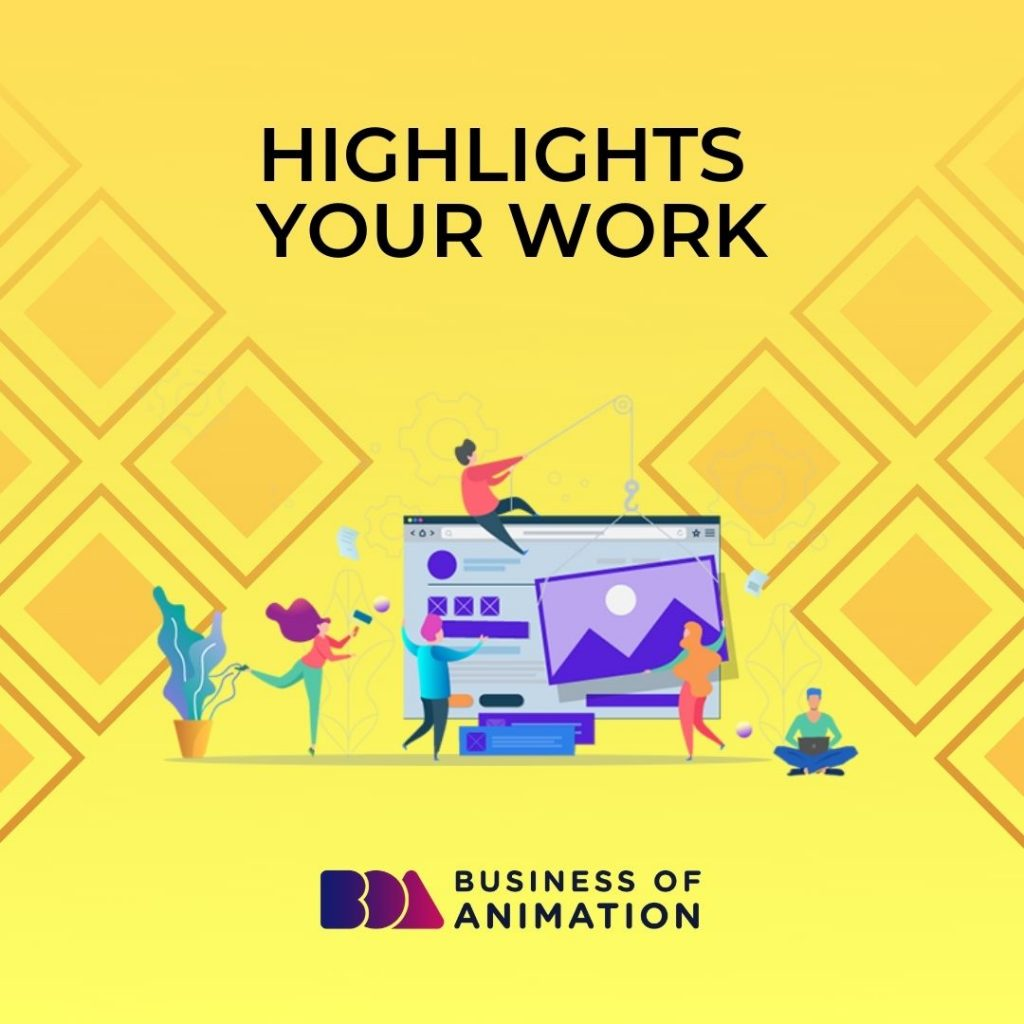 Highlights your work