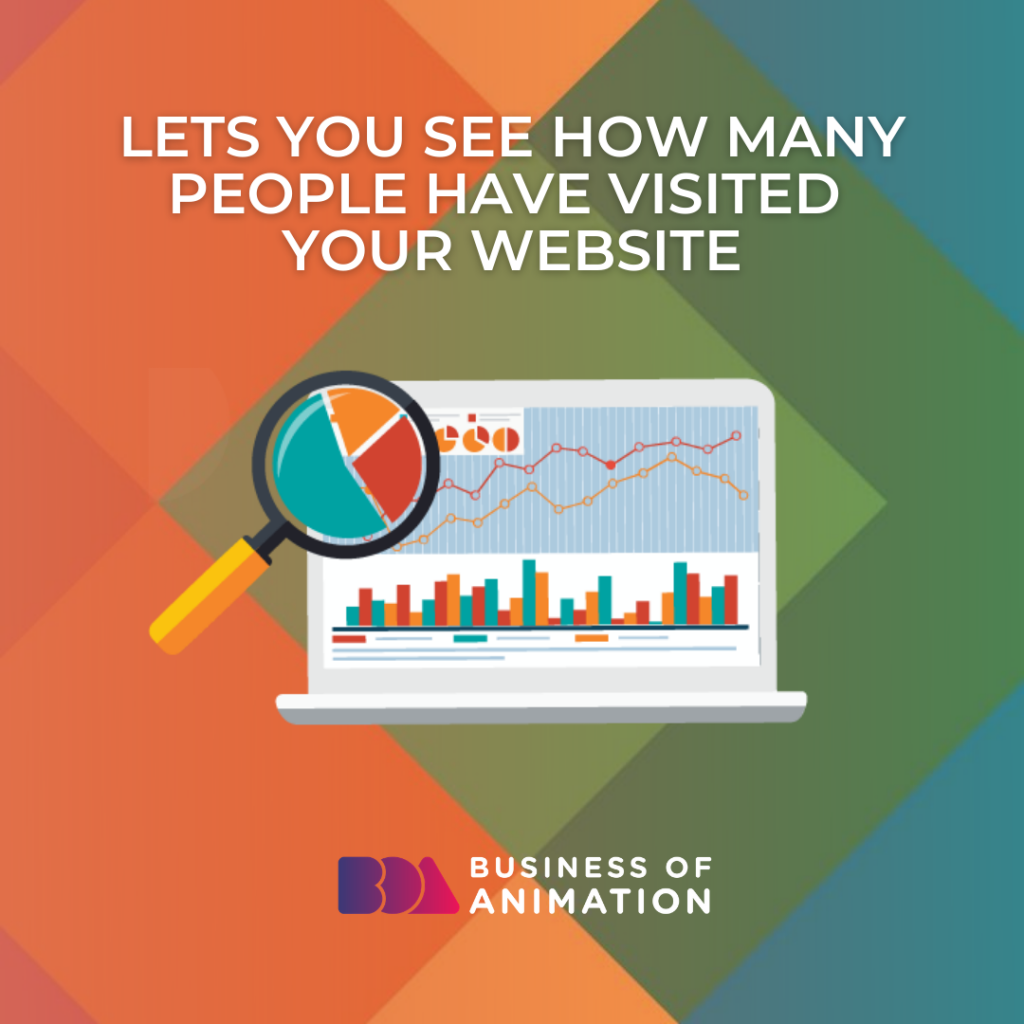 Lets You See How Many People Have Visited Your Website