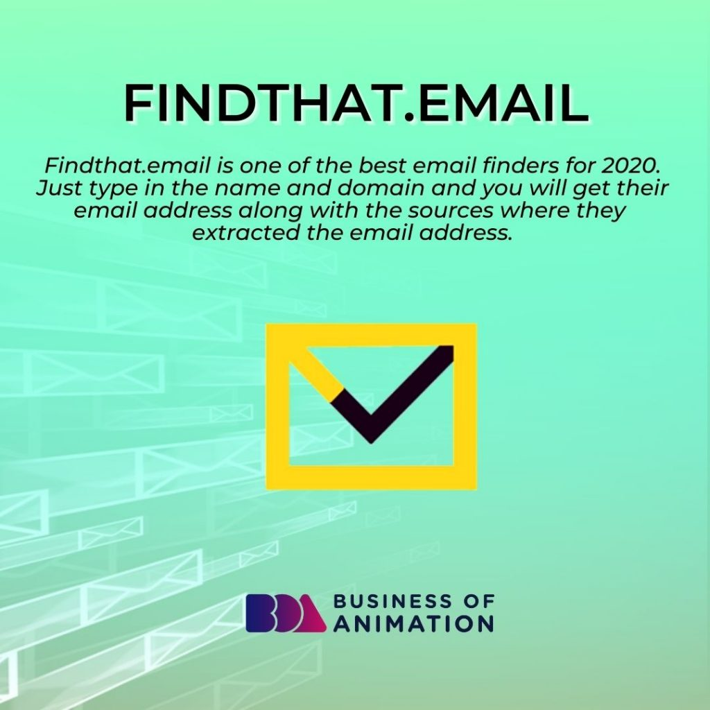 Findthat.email