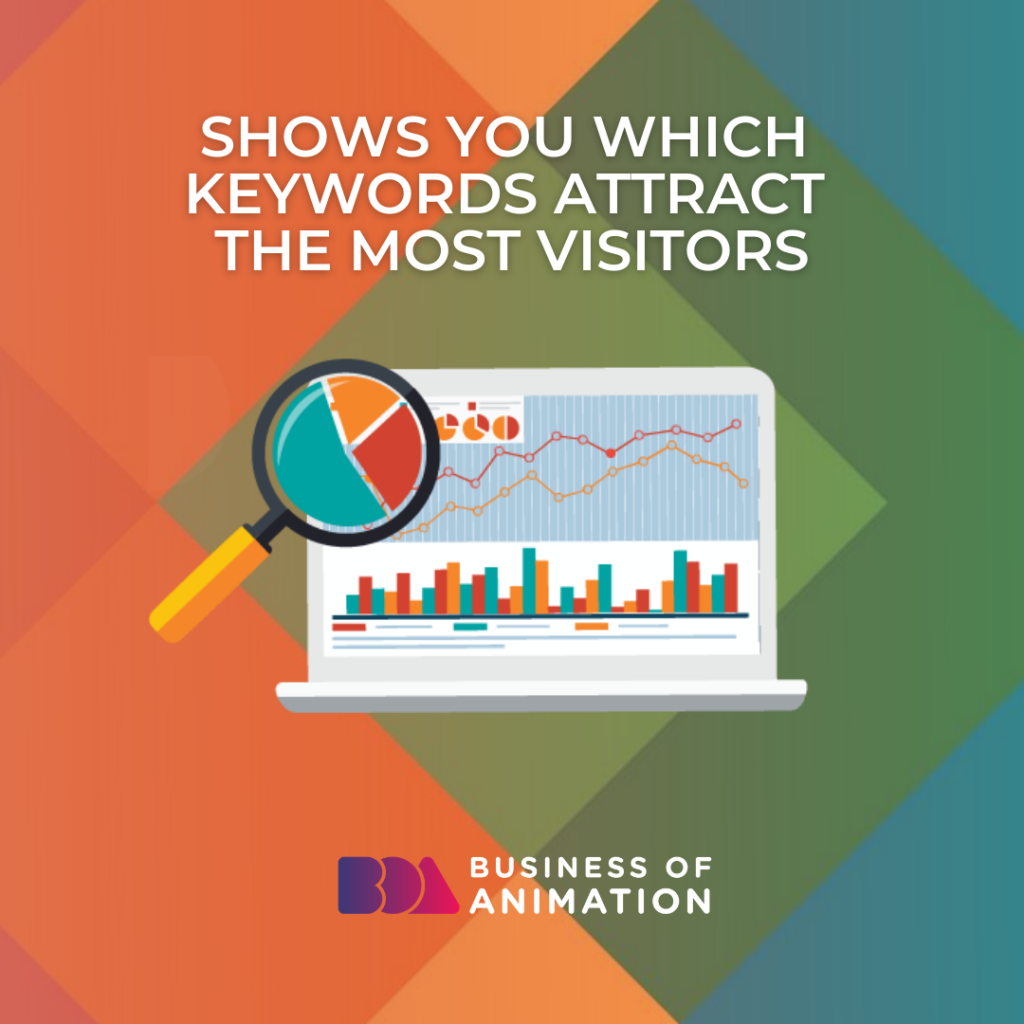 Shows You Which Keywords Attract the Most Visitors