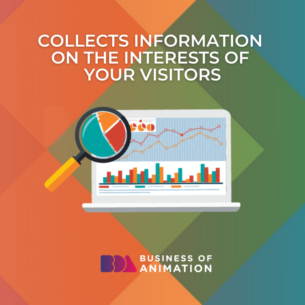 Collects Information On the Interests of Your Visitors