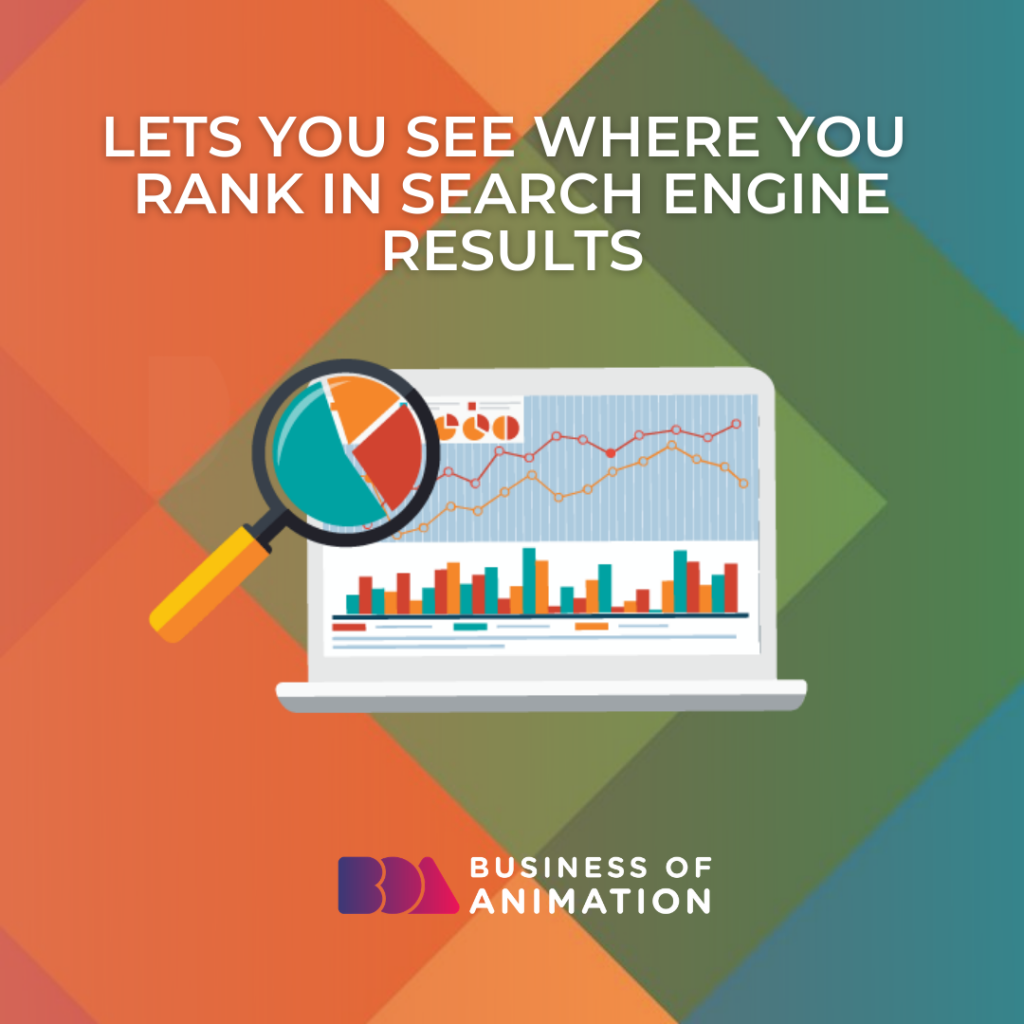 Lets You See Where You Rank In Search Engine Results