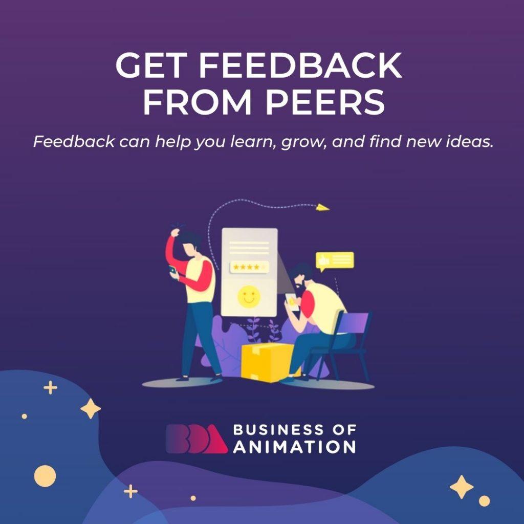 Get Feedback From Peers