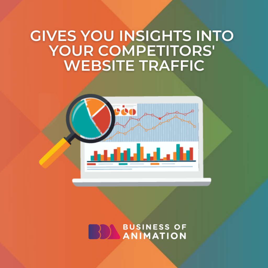 Gives You Insights Into Your Competitors' Website Traffic