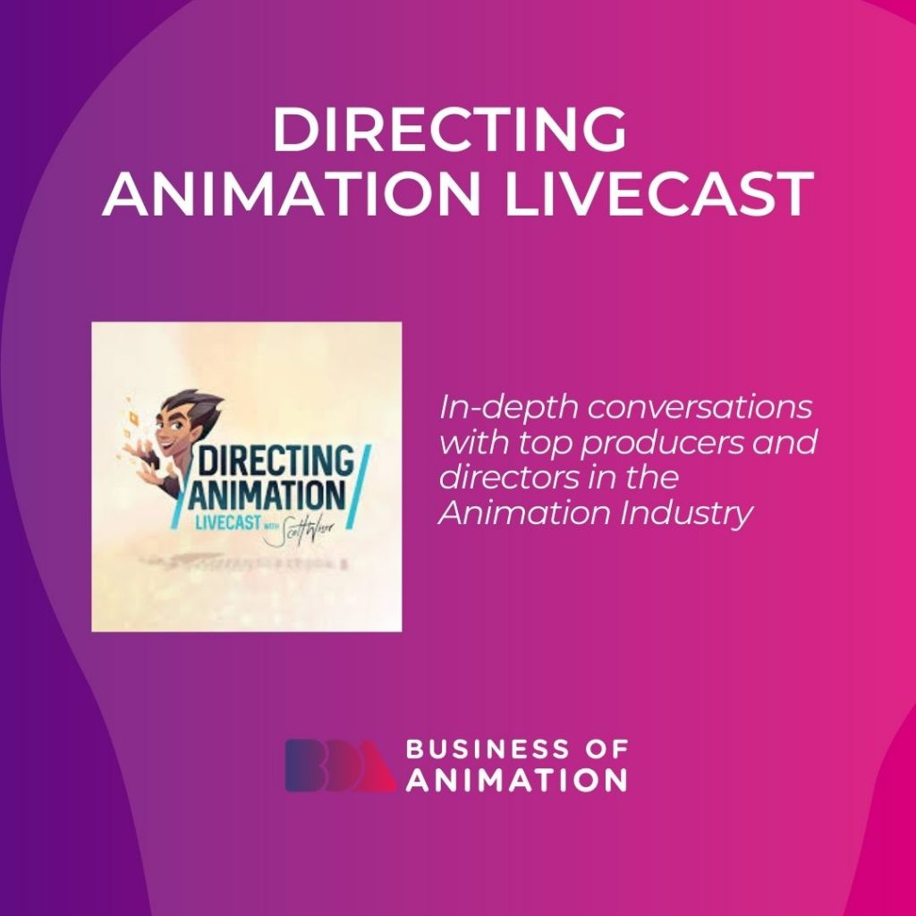 Directing Animation Livecast