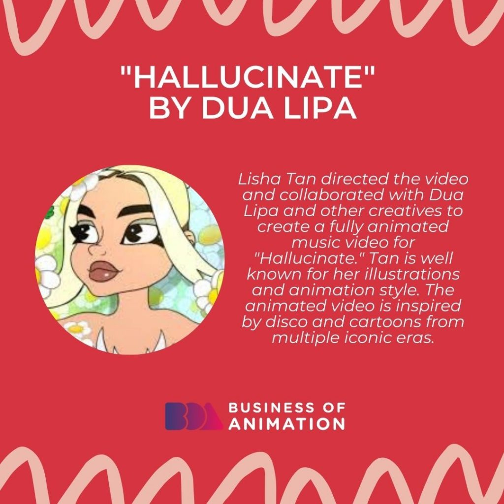 """Hallucinate"" by Dua Lipa"