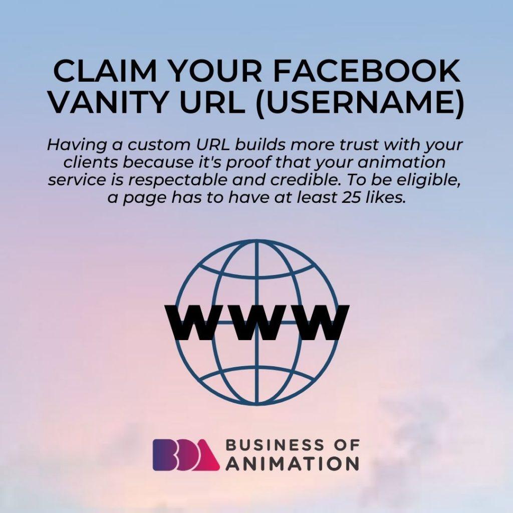 Claim Your Facebook Vanity URL (Username)