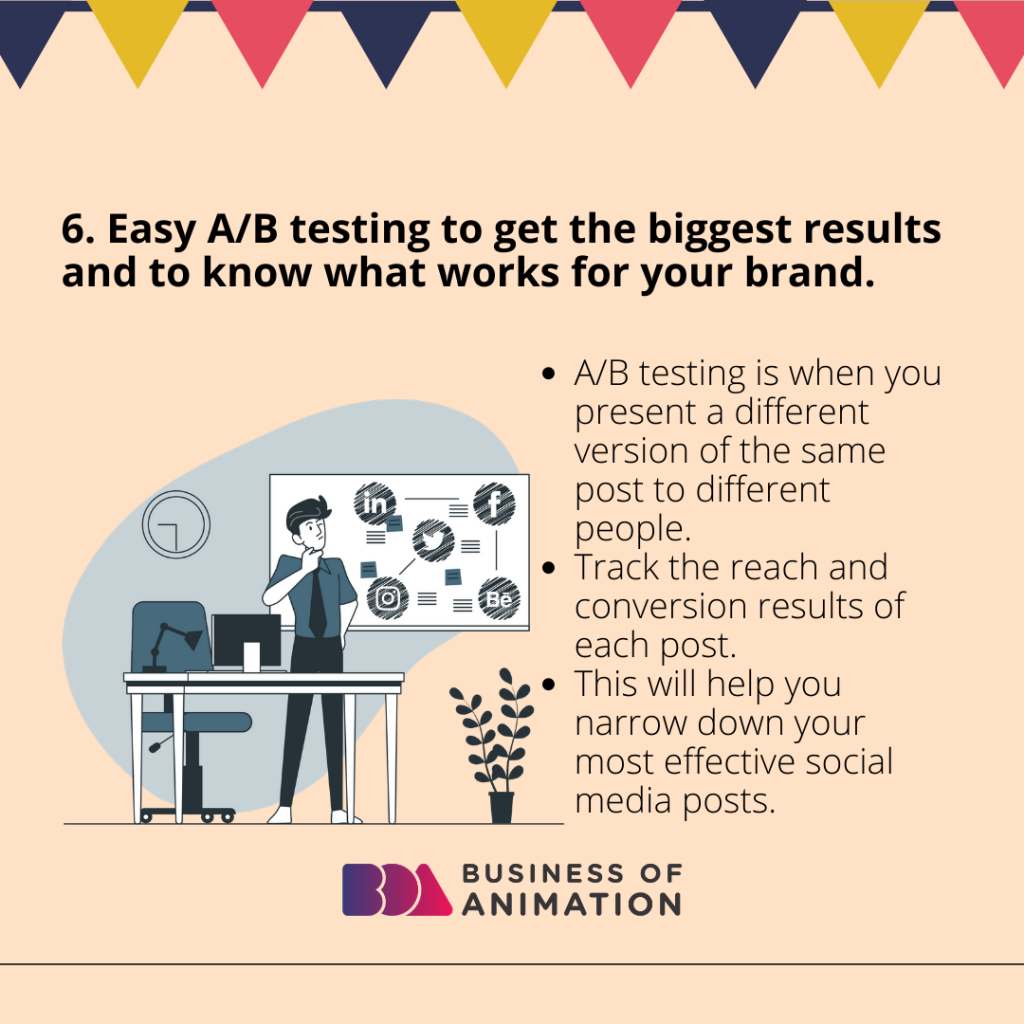 Easy A/B testing to get the biggest results and to know what works for your brand