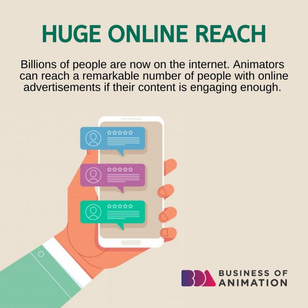 Huge Online Reach