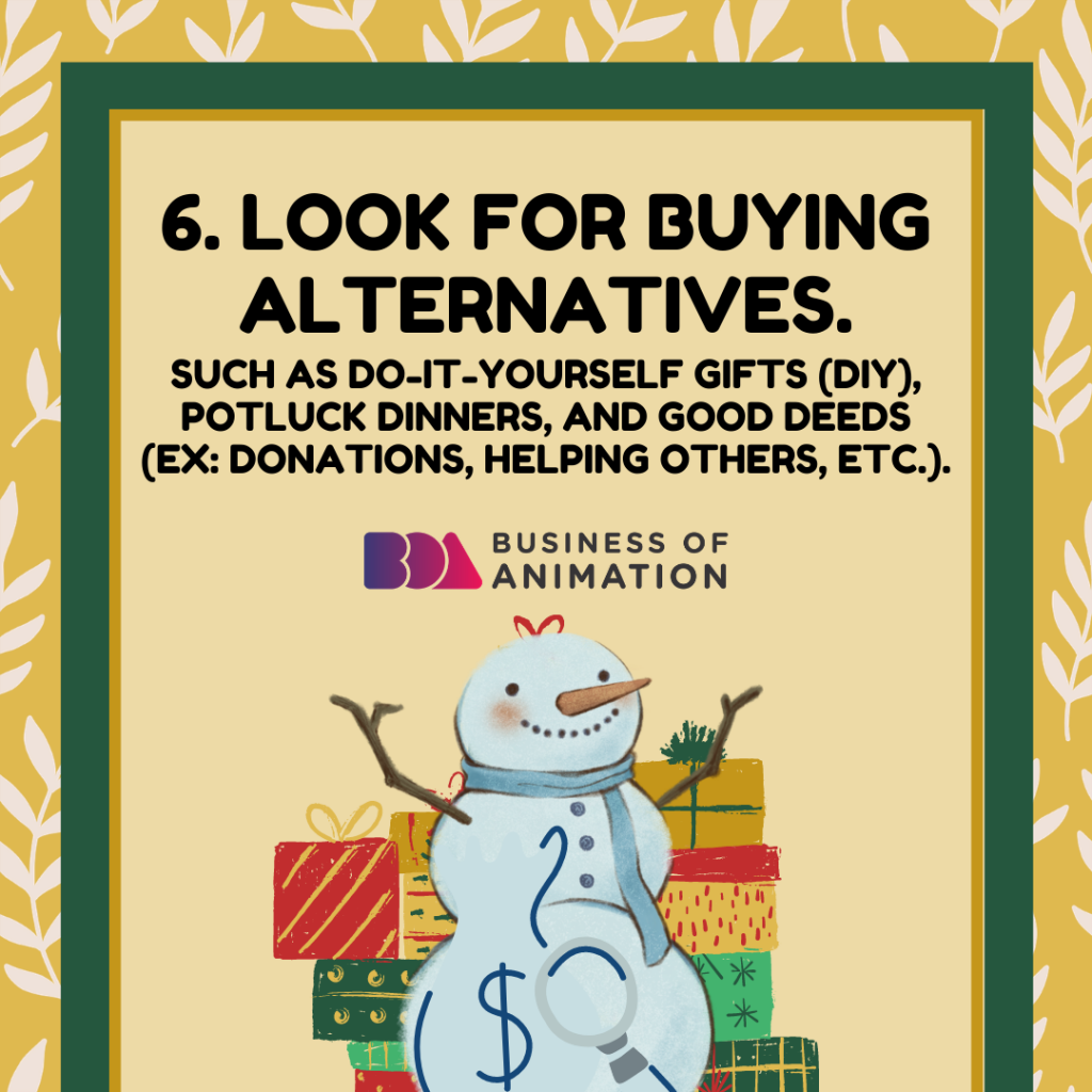LOOK FOR BUYING ALTERNATIVES