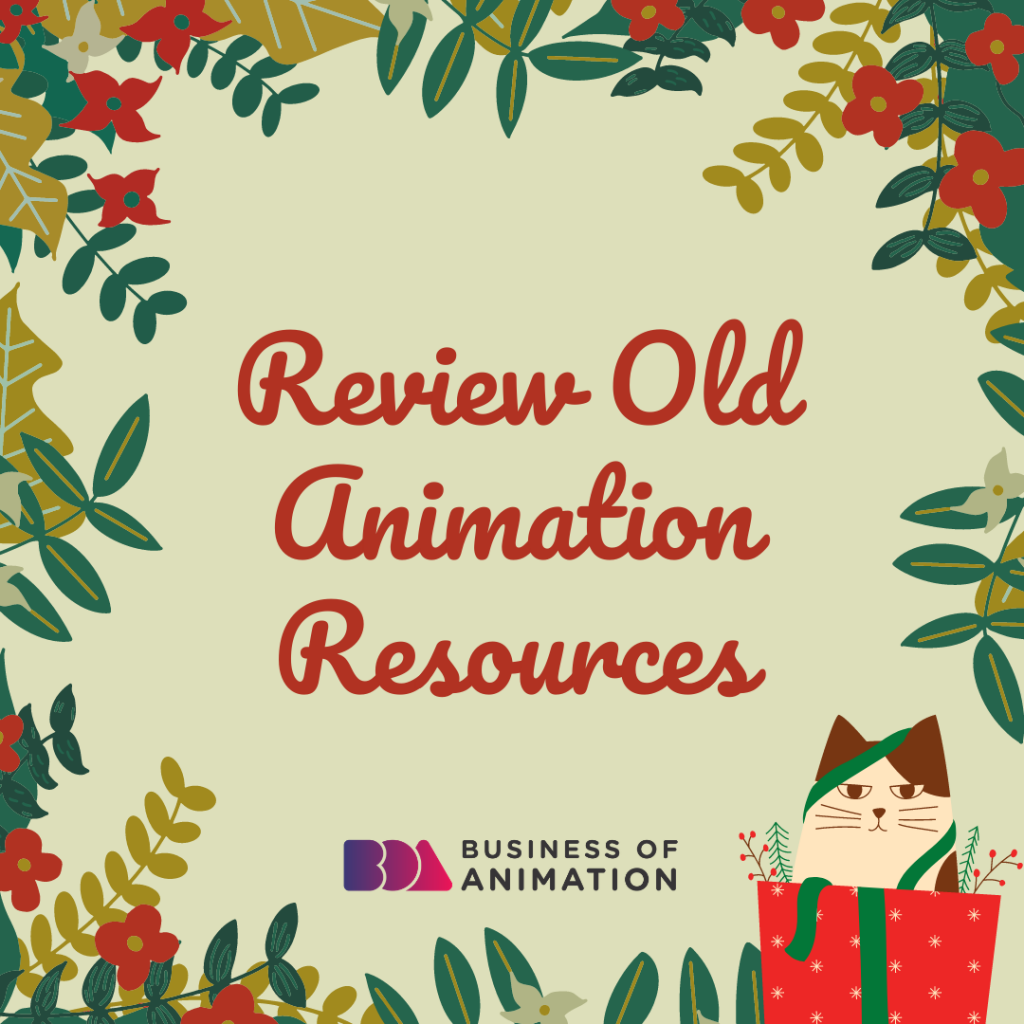 Review Old Animation Sources