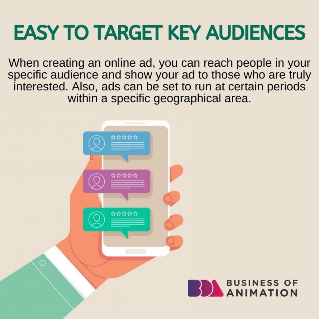 Easy to Target Key Audiences