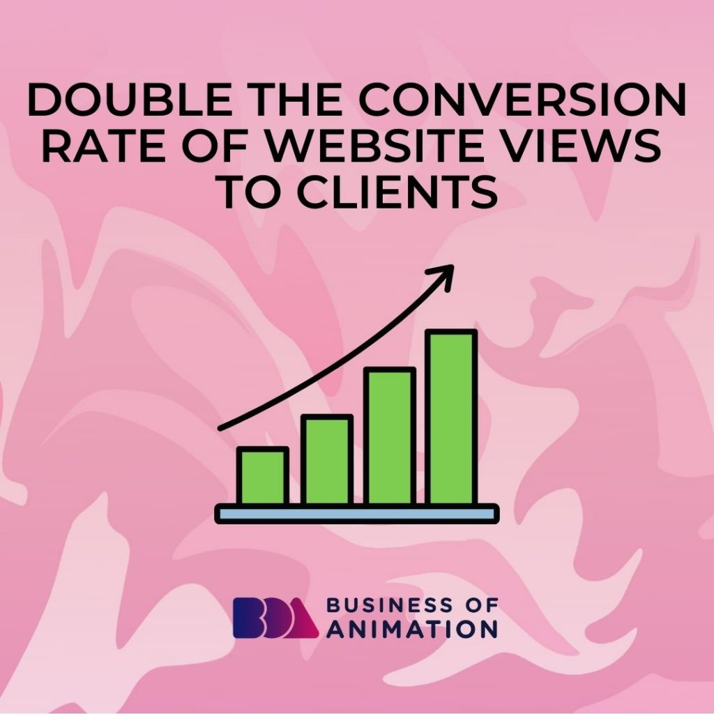 Double the Conversion Rate of Website Views to Clients