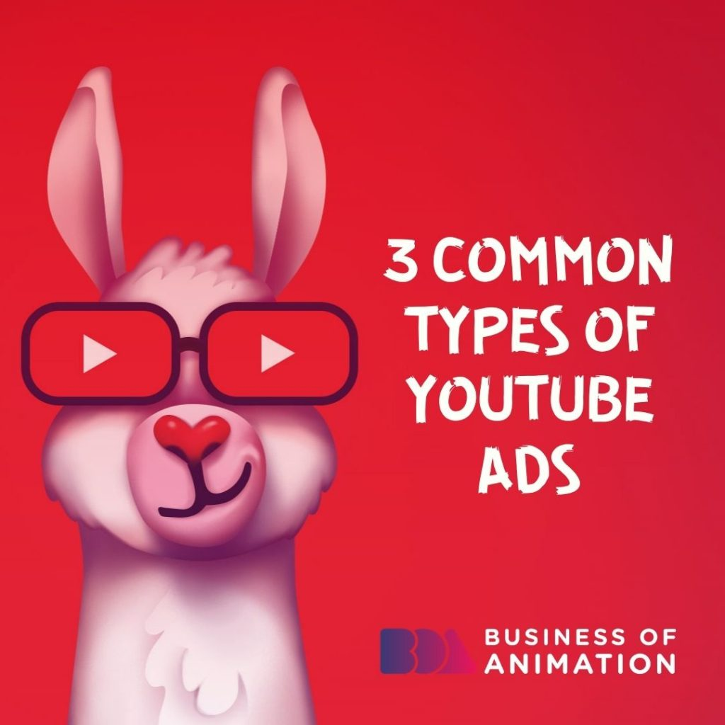 3 Common Types of YouTube Ads