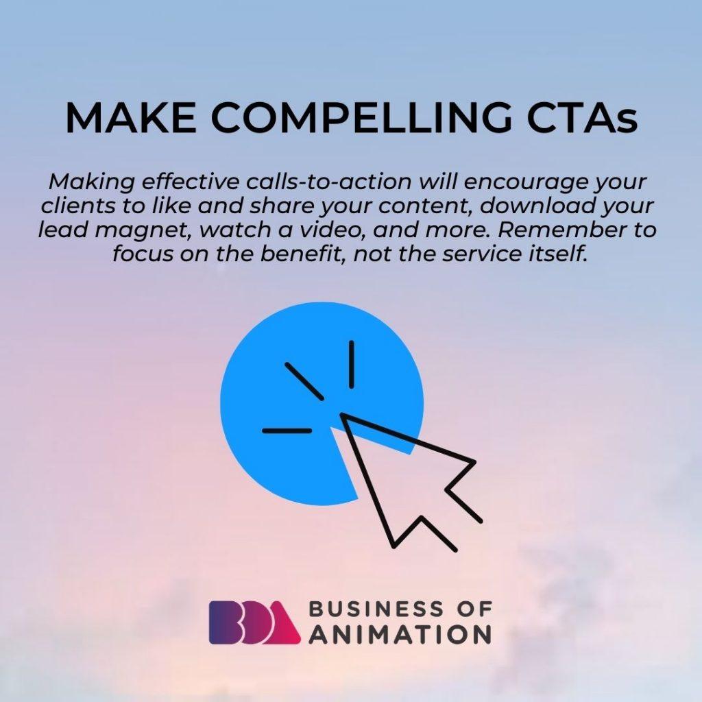Make Compelling CTAs