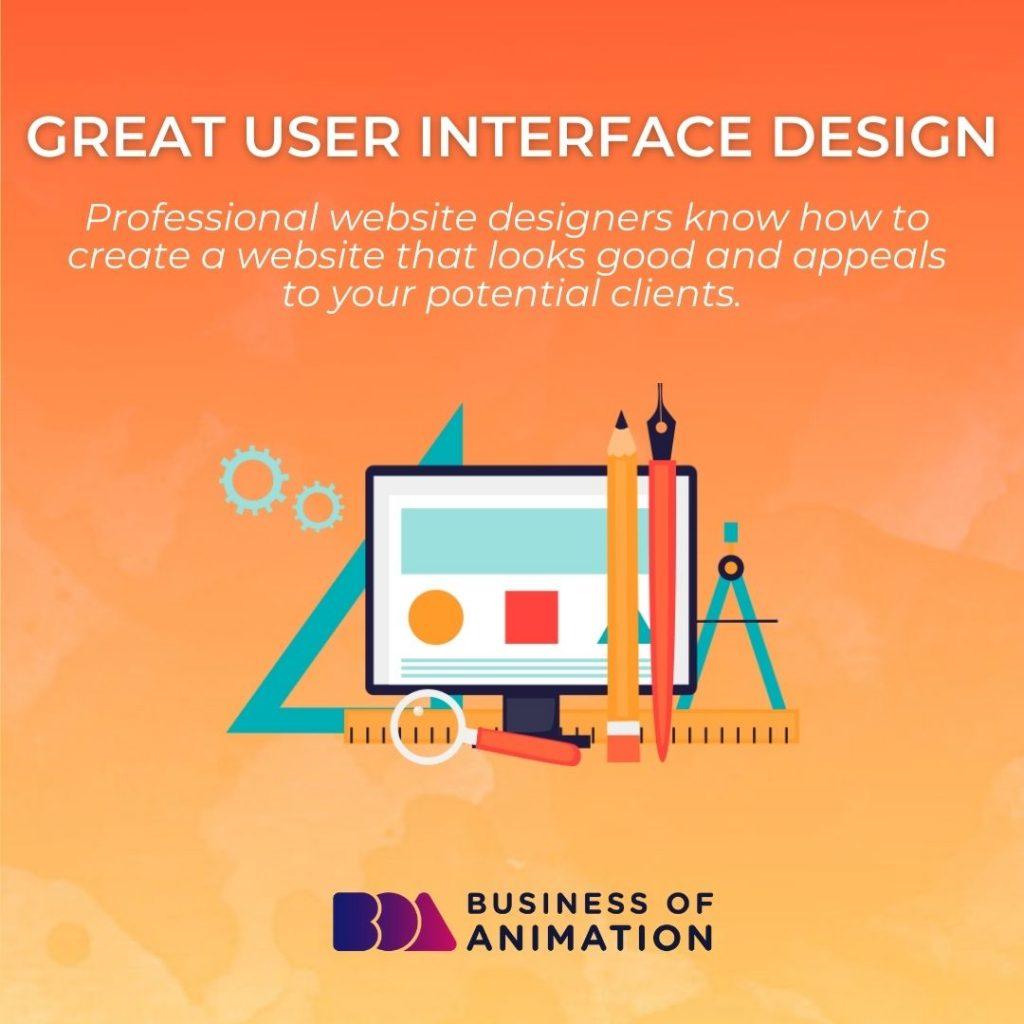 Great User Interface Design
