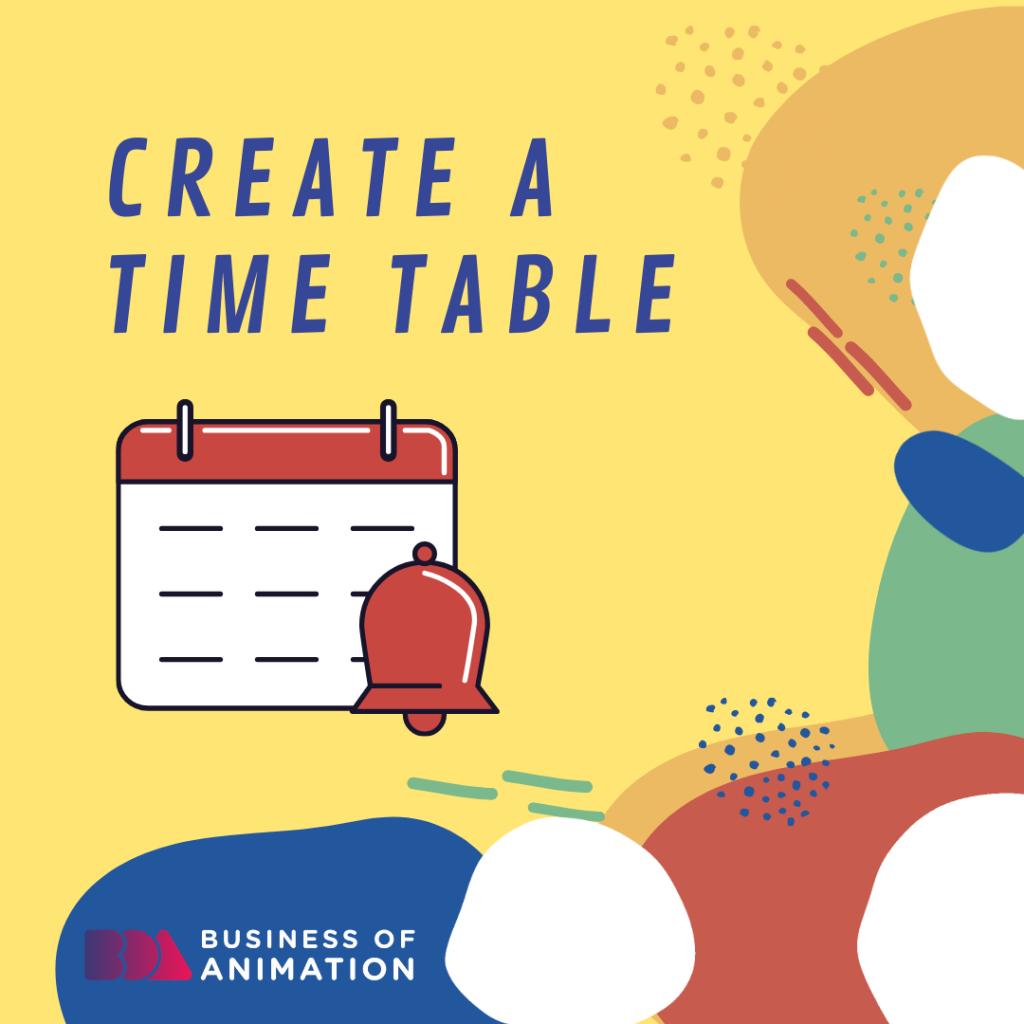 Create a Time Table