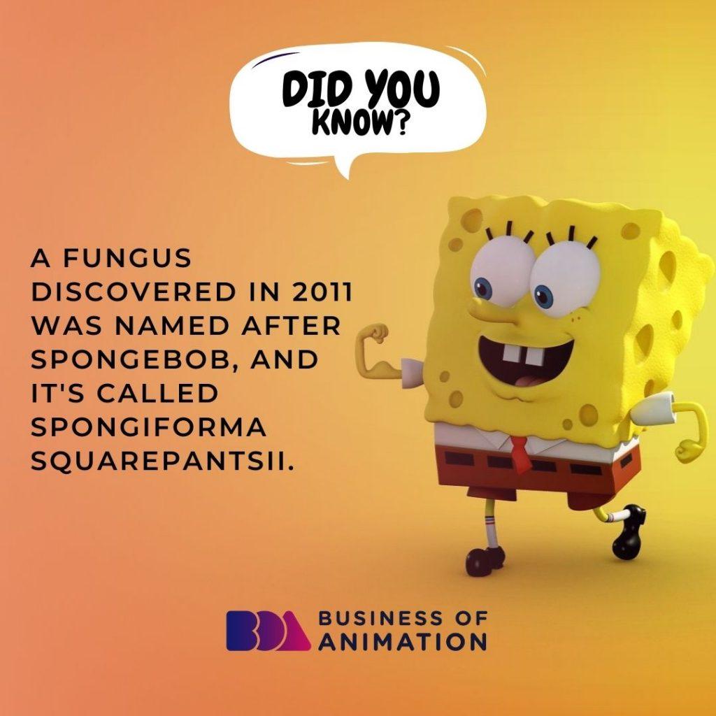 Fun Fact About SpongeBob SquarePants