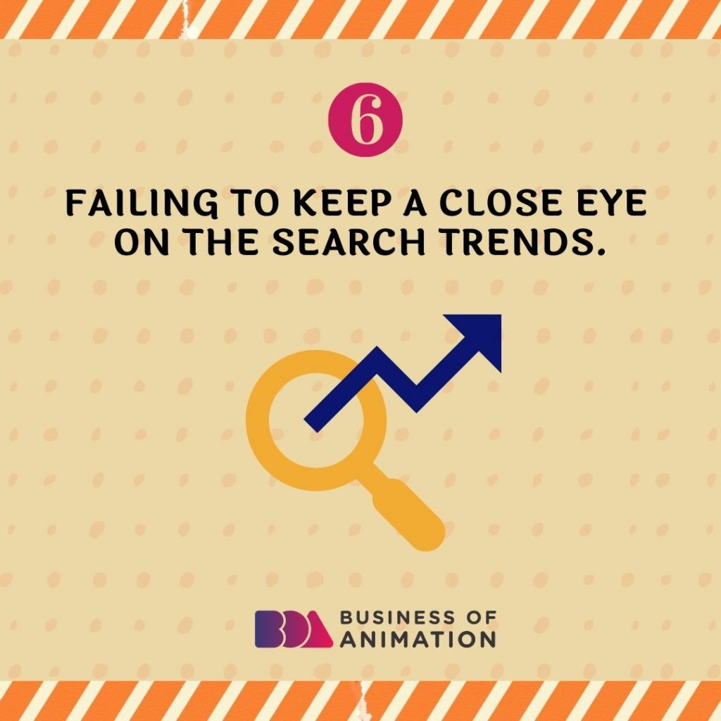 Failing to Keep a Close Eye On the Search Trends
