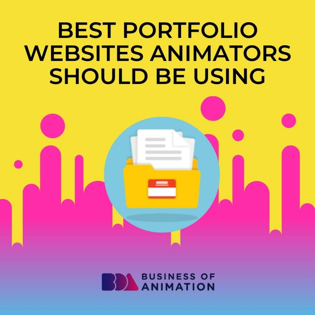 Best Portfolio Websites Animators Should Be Using